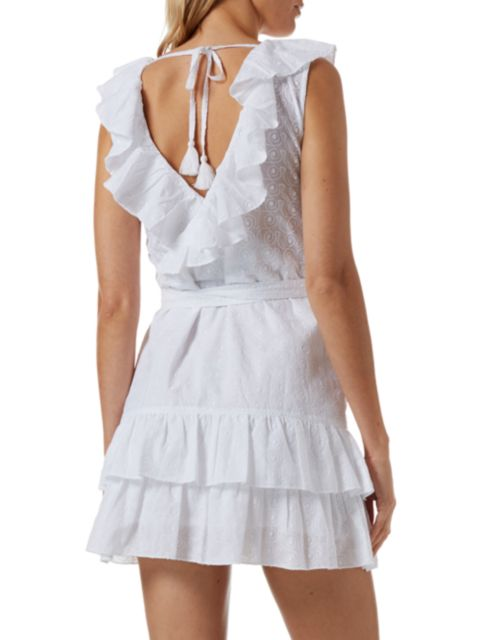 Melissa Odabash Molly Ruffle Wrap Dress | SaksFifthAvenue