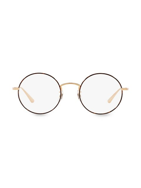 The Row After Midnight 49MM Round Clear Lens Glasses