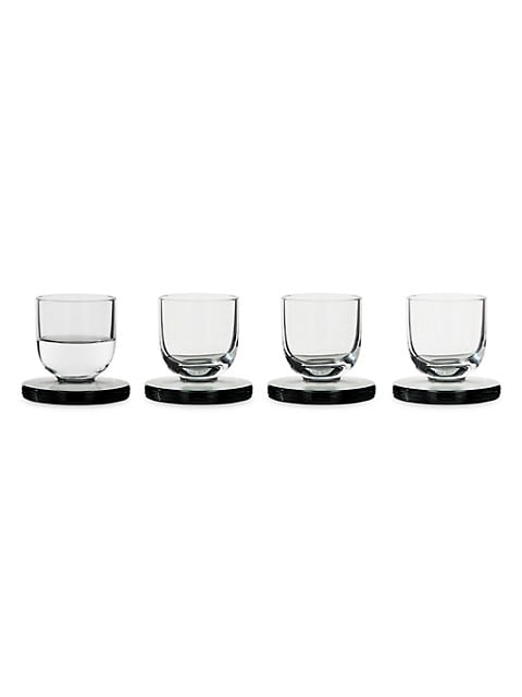Puck 4-Piece Shot Glass Set