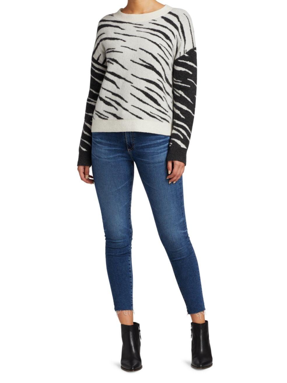 Rails Lana Tiger Sweater   SaksFifthAvenue