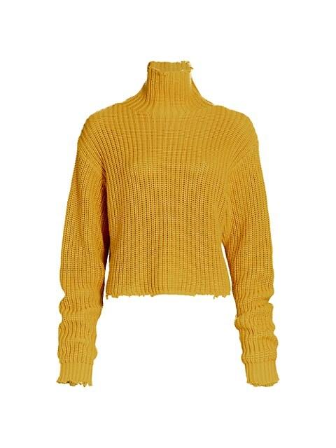 Beau Long-Sleeve Turtleneck Sweater