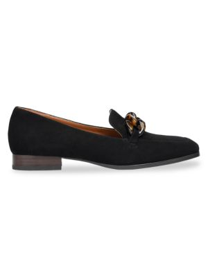 Kate Spade Suedes Rowan Square-Toe Suede Loafers