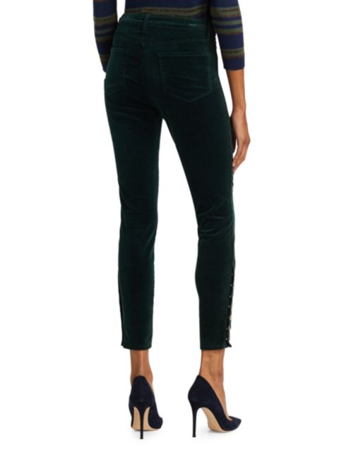 L'Agence Piper High-Rise Skinny Pants   SaksFifthAvenue