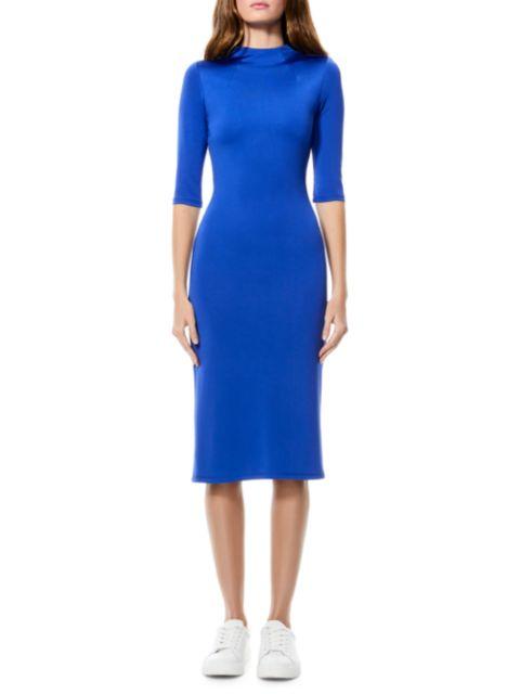 Alice + Olivia Delora Knit Bodycon Dress | SaksFifthAvenue