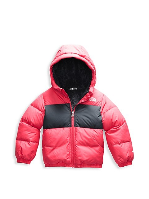 The North Face Little Girls Two-Tone Down Puffer Jacket