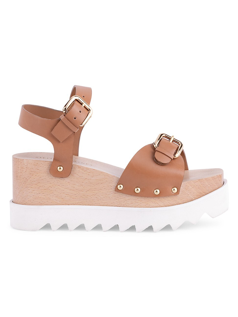 Stella Mccartney WOMEN'S ELYSE PLATFORM WEDGE SANDALS