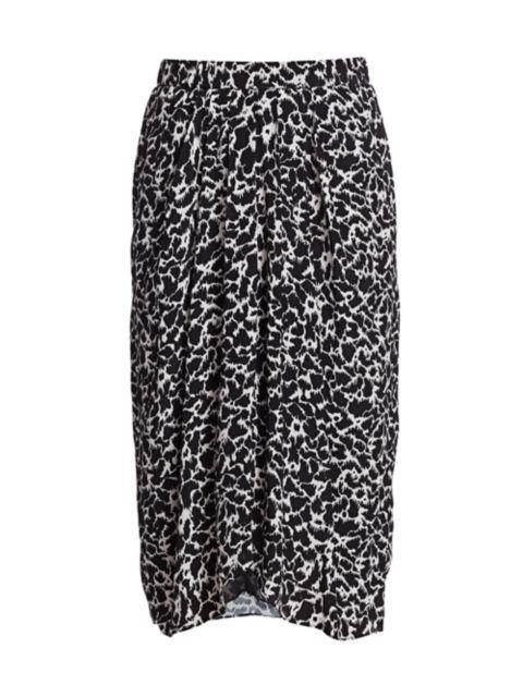 Isabel Marant Etoile Siasi Printed Skirt | SaksFifthAvenue