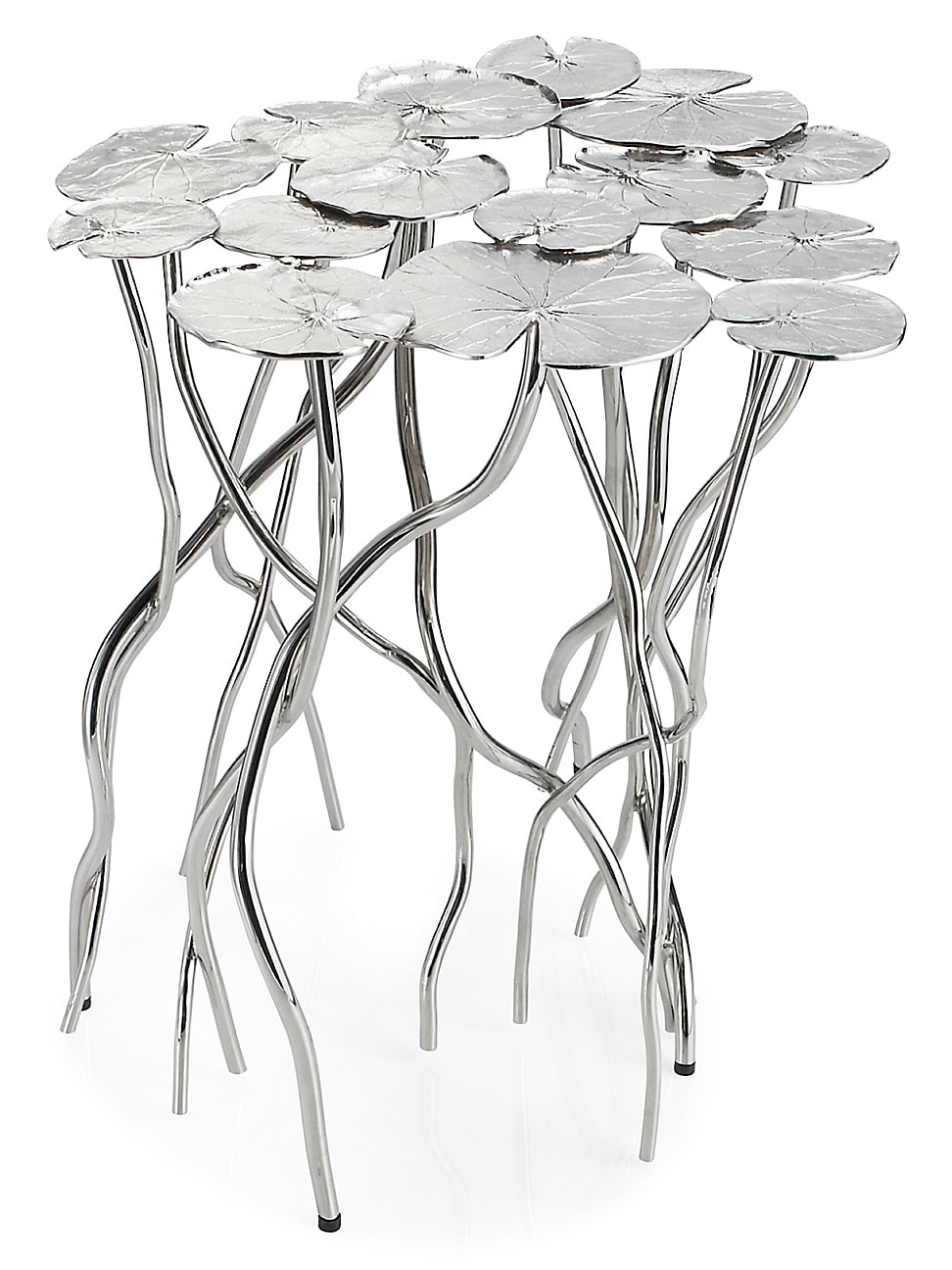 Michael Aram Lily Pad Accent Table In Multi
