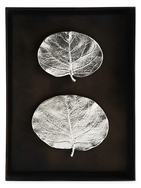 Special Editions Botanical Leaf Shadow Box