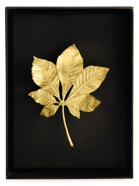 Special Editions Chestnut Leaf Shadow Box