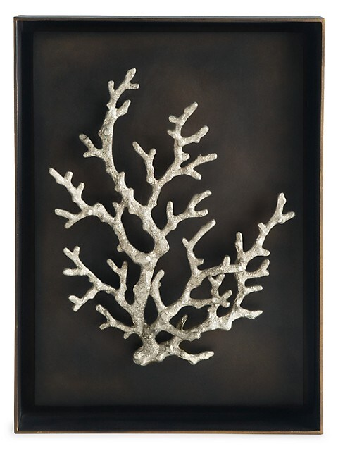 Ocean Coral Shadow Box