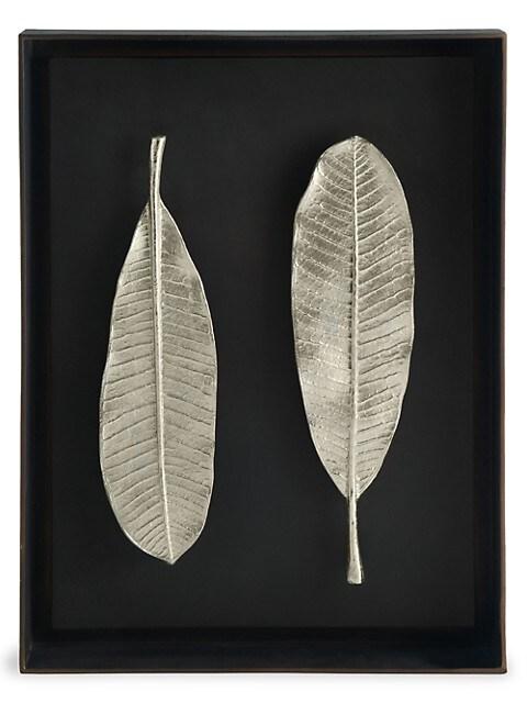 Special Editions Champa Leaf Shadow Box