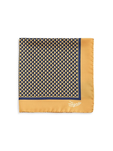 Triangle Silk Pocket Square