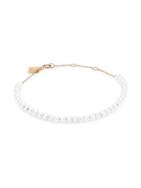 Maria Mini 3MM Pearl Bracelet