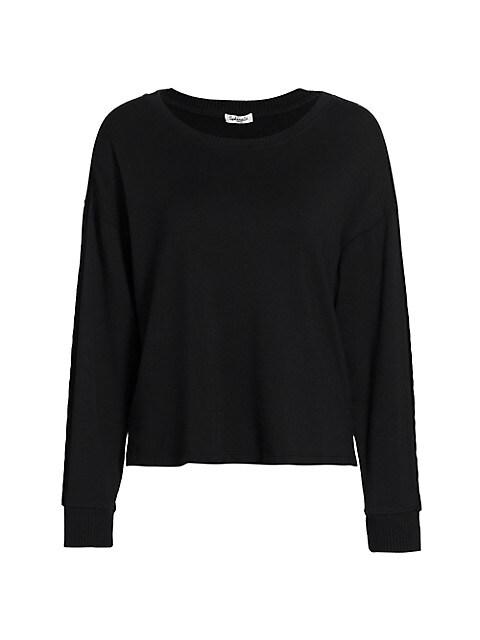 Supersoft Velvet Pullover