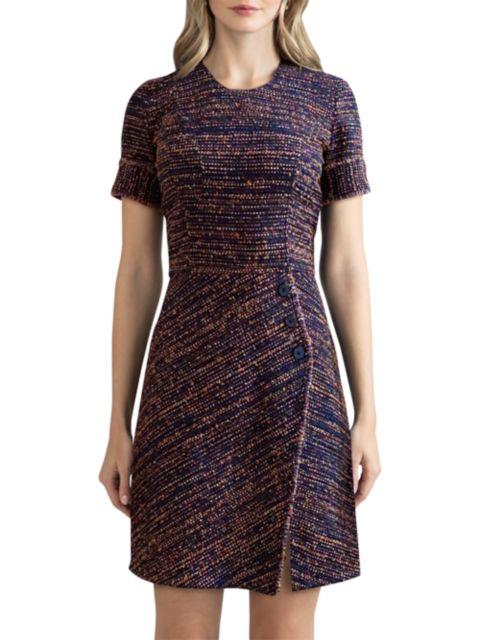Shoshanna Adalyn Multicolor Knit Dress | SaksFifthAvenue