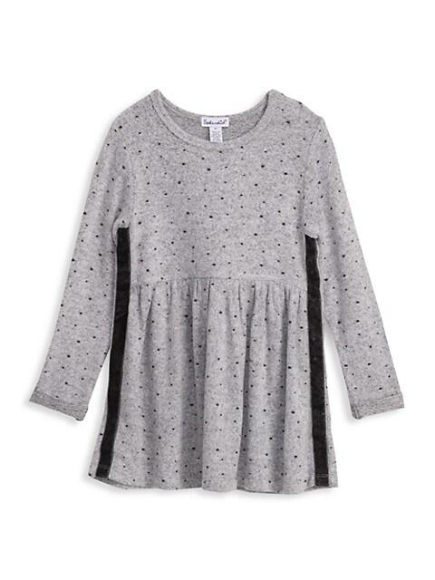 Little Girl's Hacci Star Dress