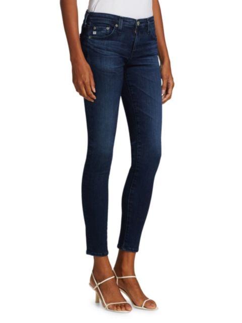 AG Jeans Mid-Rise Ankle Skinny Legging Jeans   SaksFifthAvenue