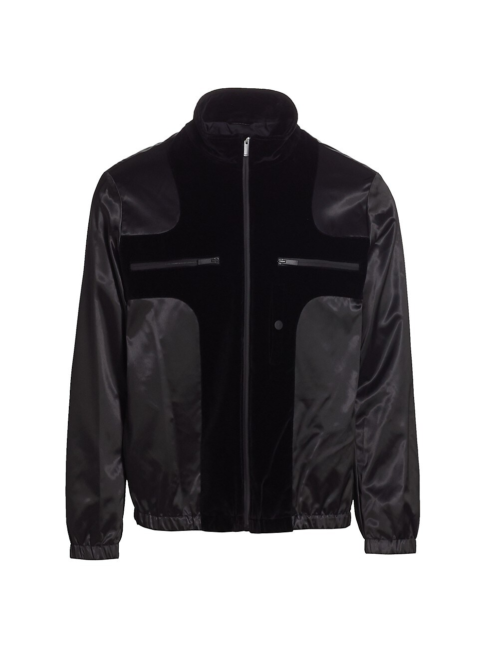 Fendi MEN'S WEIGHT SATIN PUFFER JACKET