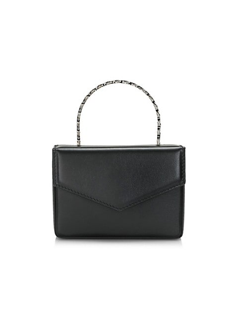 Mini Pernille Super Leather Box Bag