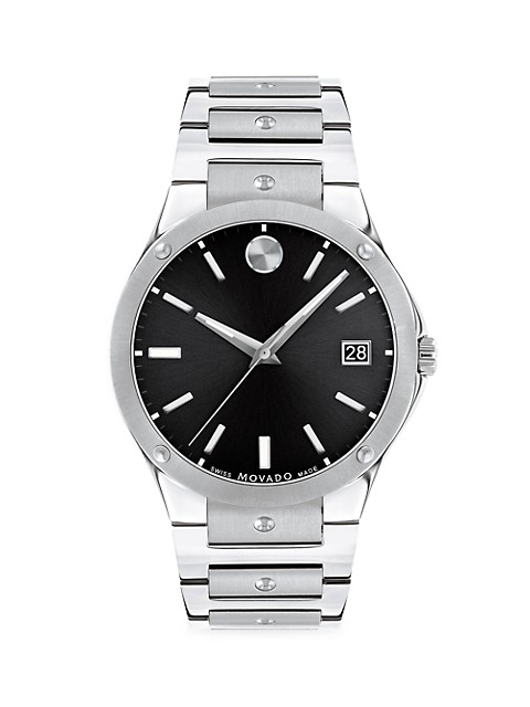 S.E. Stainless Steel Bracelet Watch