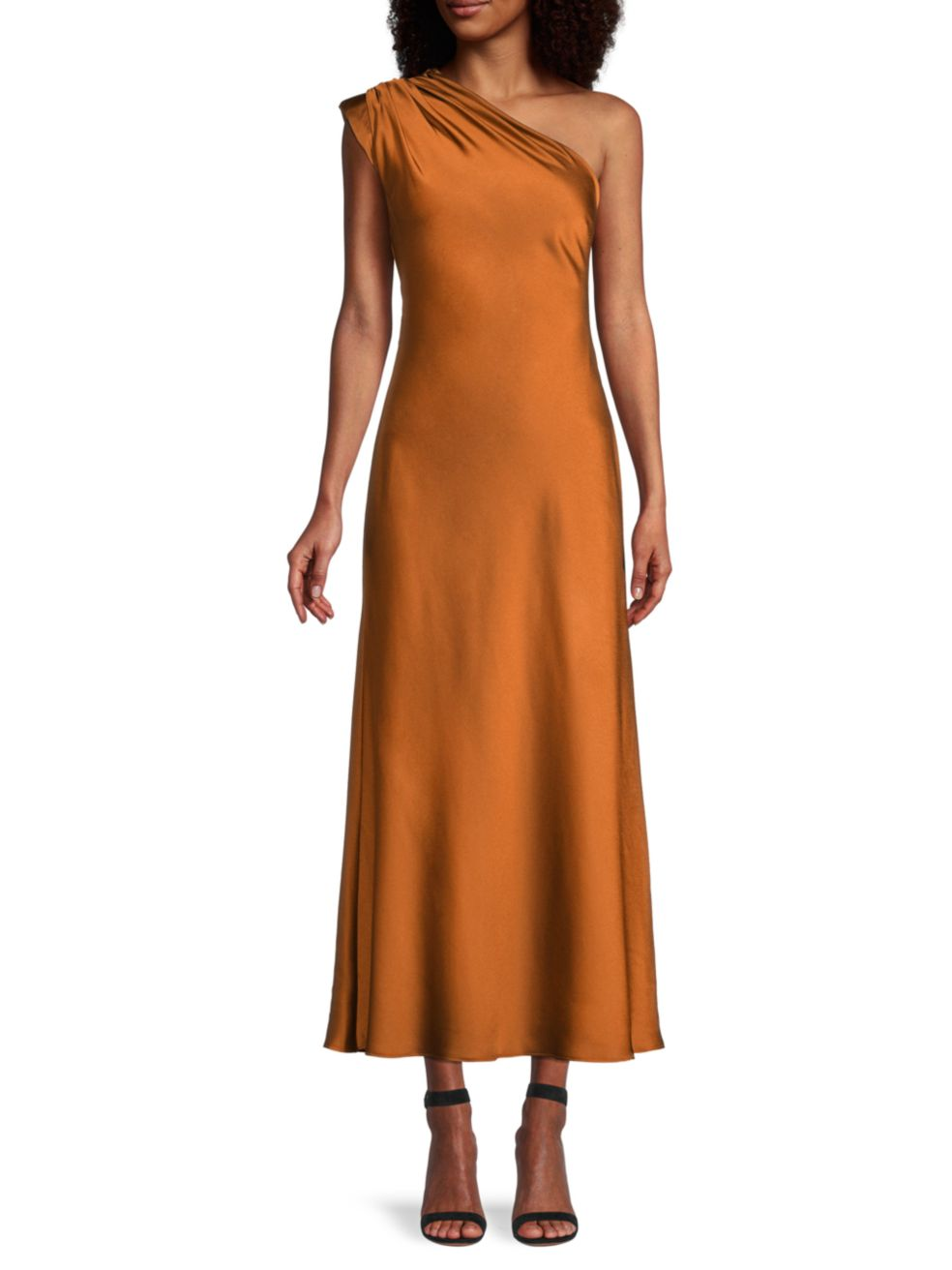 FAME AND PARTNERS The Antonia One-Shoulder Dress | SaksFifthAvenue