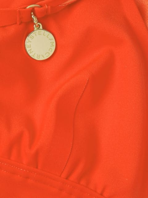 Stella McCartney Bodycon Cutout Bright Bikini Top   SaksFifthAvenue