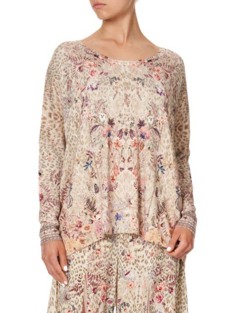 Camilla Oversized Longline Printed Shirt | SaksFifthAvenue