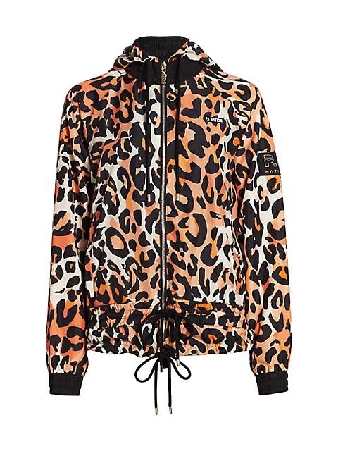 Man Up Leopard Zip Jacket