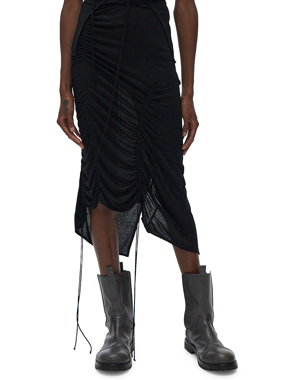 Helmut Lang WOMEN'S SCALA DRAWSTRING SKIRT