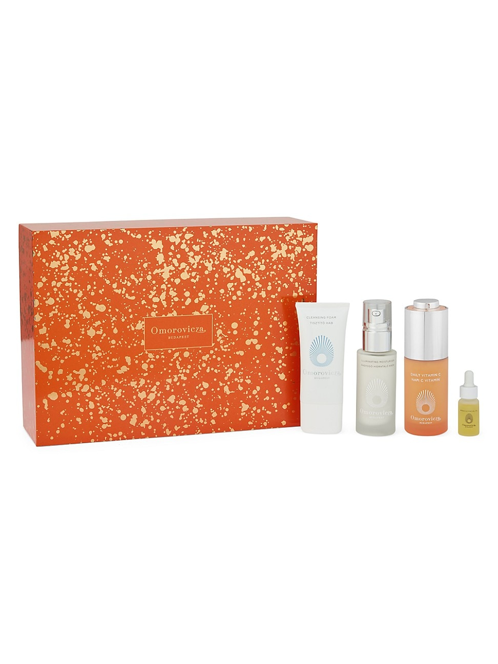 Omorovicza HOLIDAY GLOW DISCOVERY 4-PIECE SET