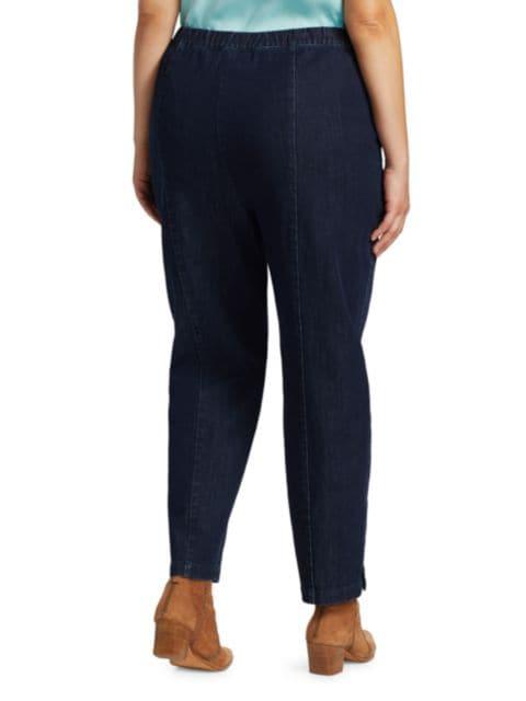 Lafayette 148 New York, Plus Size Murray Pull-On Skinny Jeans   SaksFifthAvenue