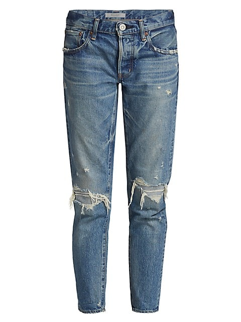 Wantage Mid-Rise Tapered Jeans