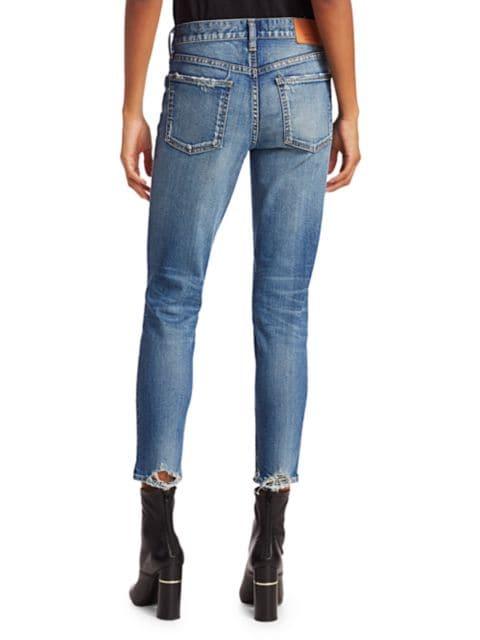 Moussy Vintage Velma Cropped Skinny Jeans | SaksFifthAvenue