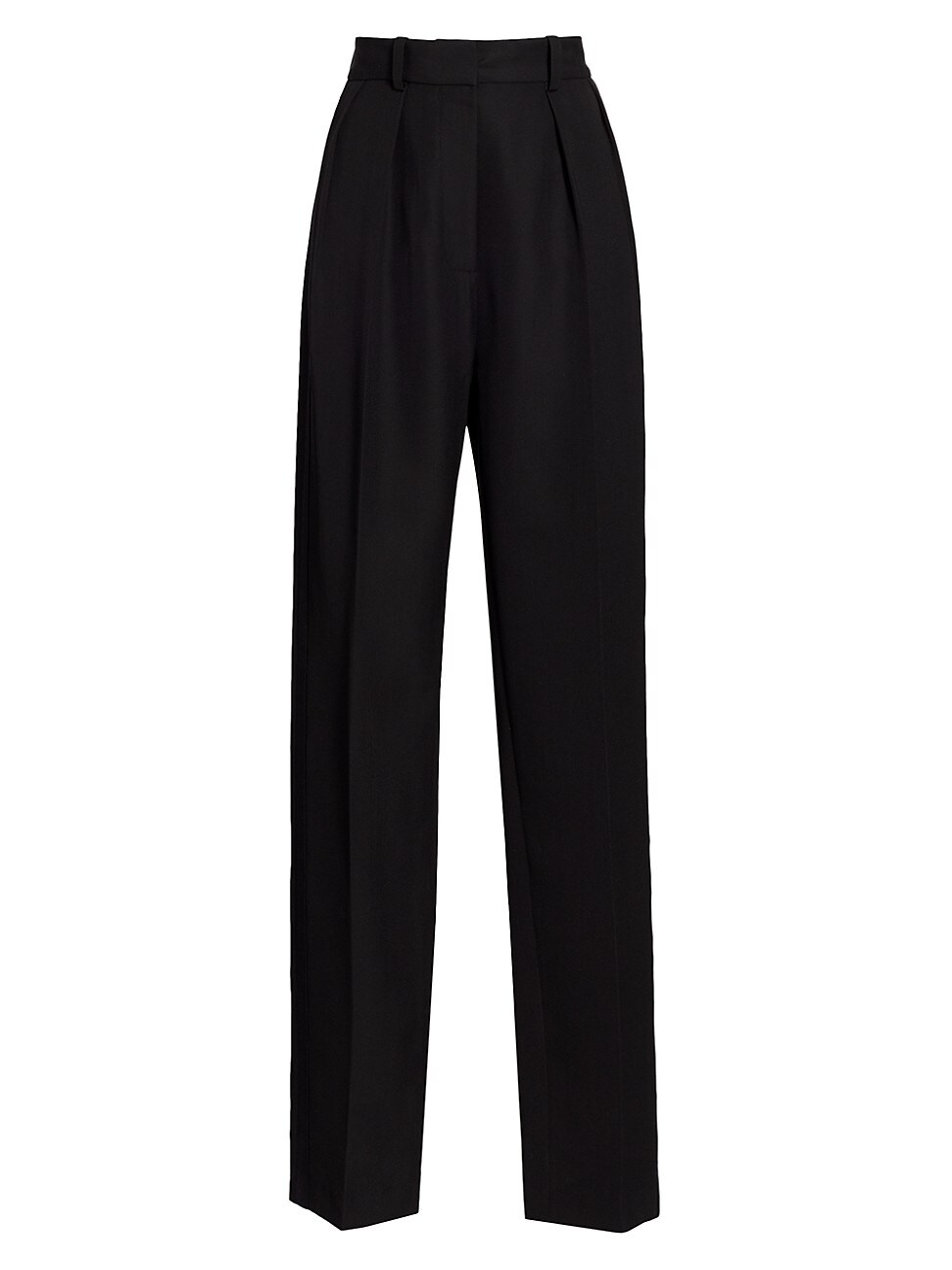Victoria Beckham WOMEN'S HIGH WAISTED DOUBLE PLEAT TUX TROUSERS