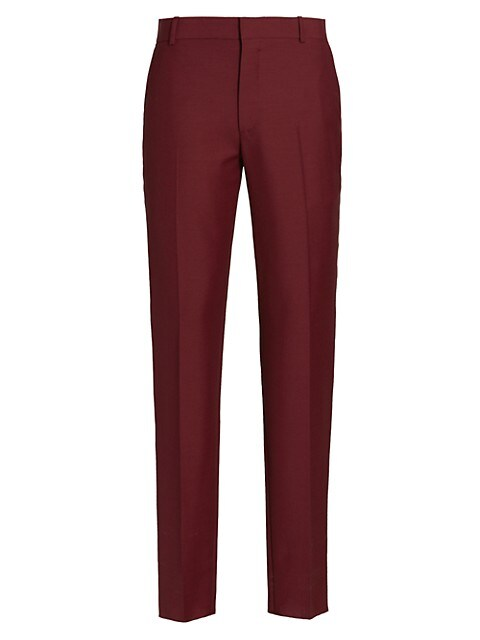 Sustainable Wool & Mohair Trousers