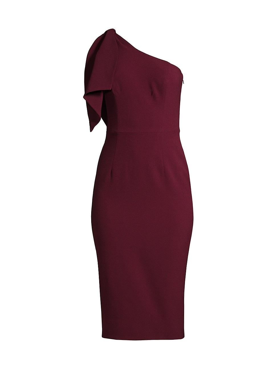 Dress The Population WOMEN'S TIFFANY ONE-SHOULDER DRESS