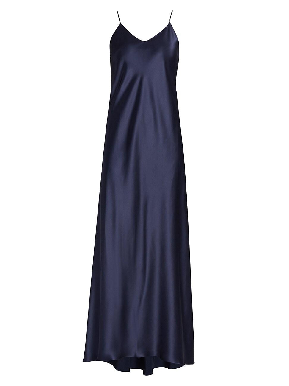Adriana Iglesias WOMEN'S JADI SILK SLIP DRESS