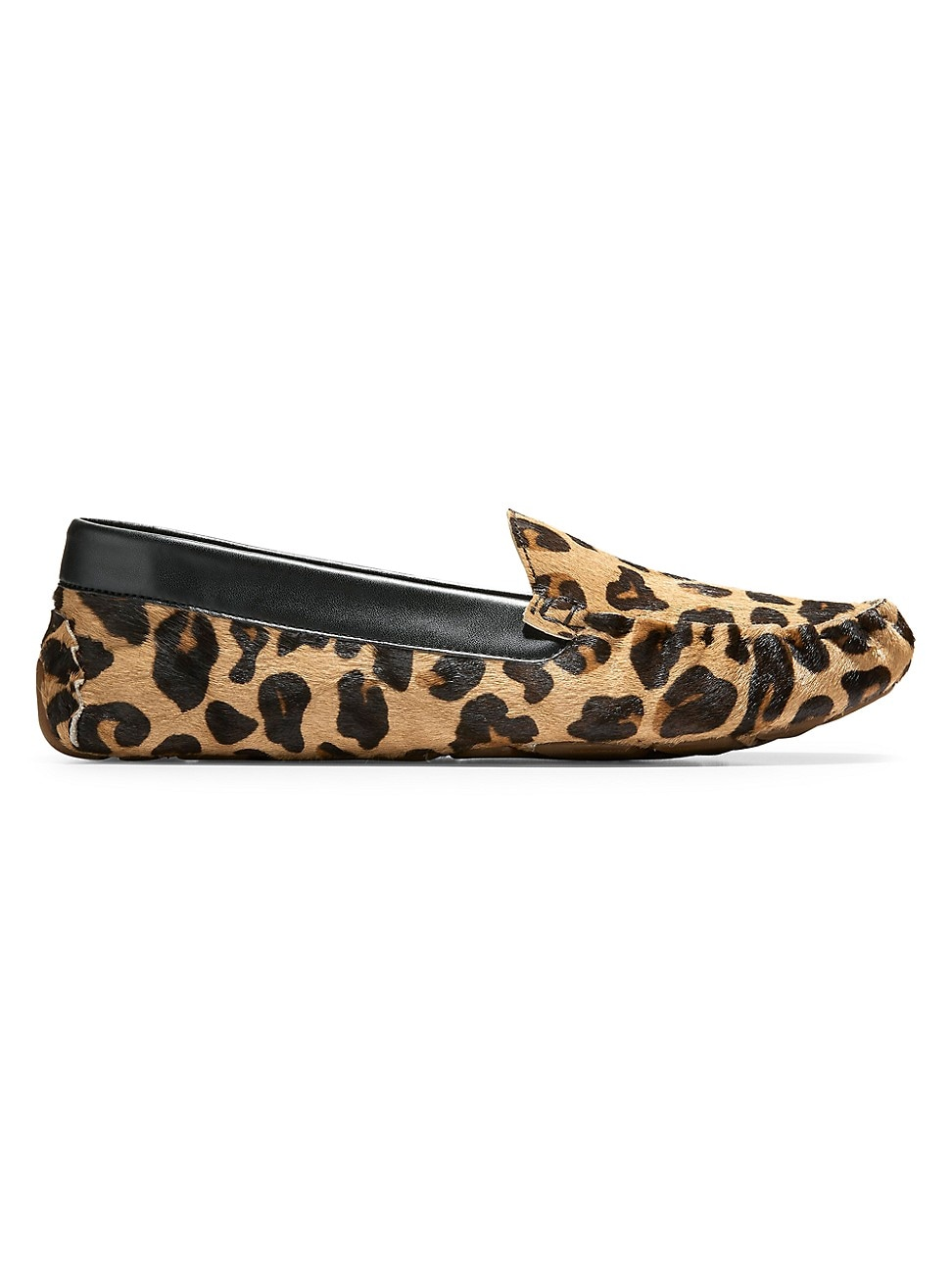 Cole Haan Women's Evelyn Leopard-print Faux Calf Hair Loafers In Multi