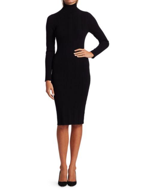 L'Agence Jeanne Turtleneck Dress | SaksFifthAvenue