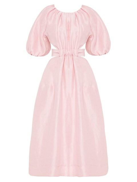 Mimosa Cutout Midi Dress