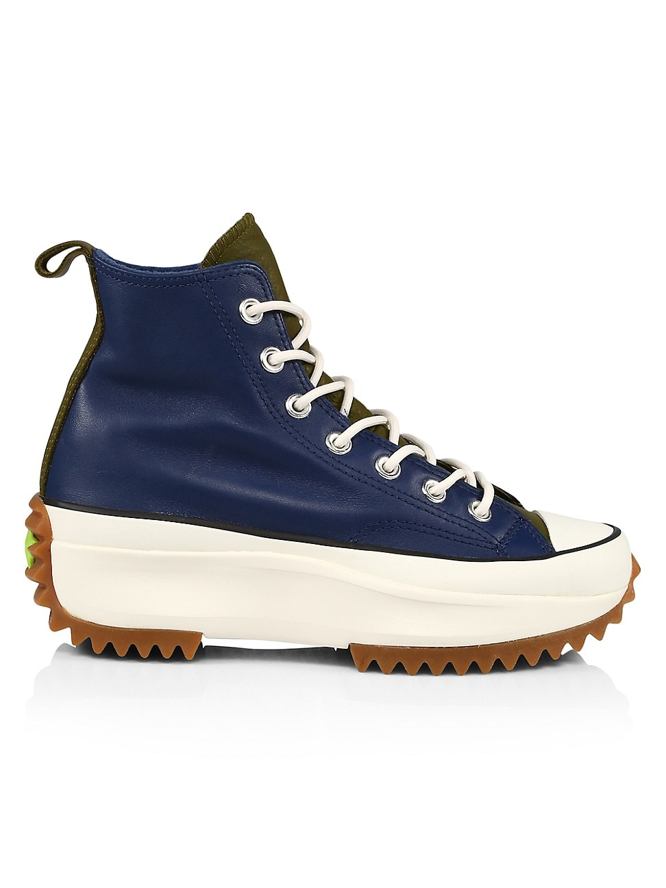 Converse WOMEN'S RUN STAR HIKE HIGH-TOP LEATHER SNEAKERS