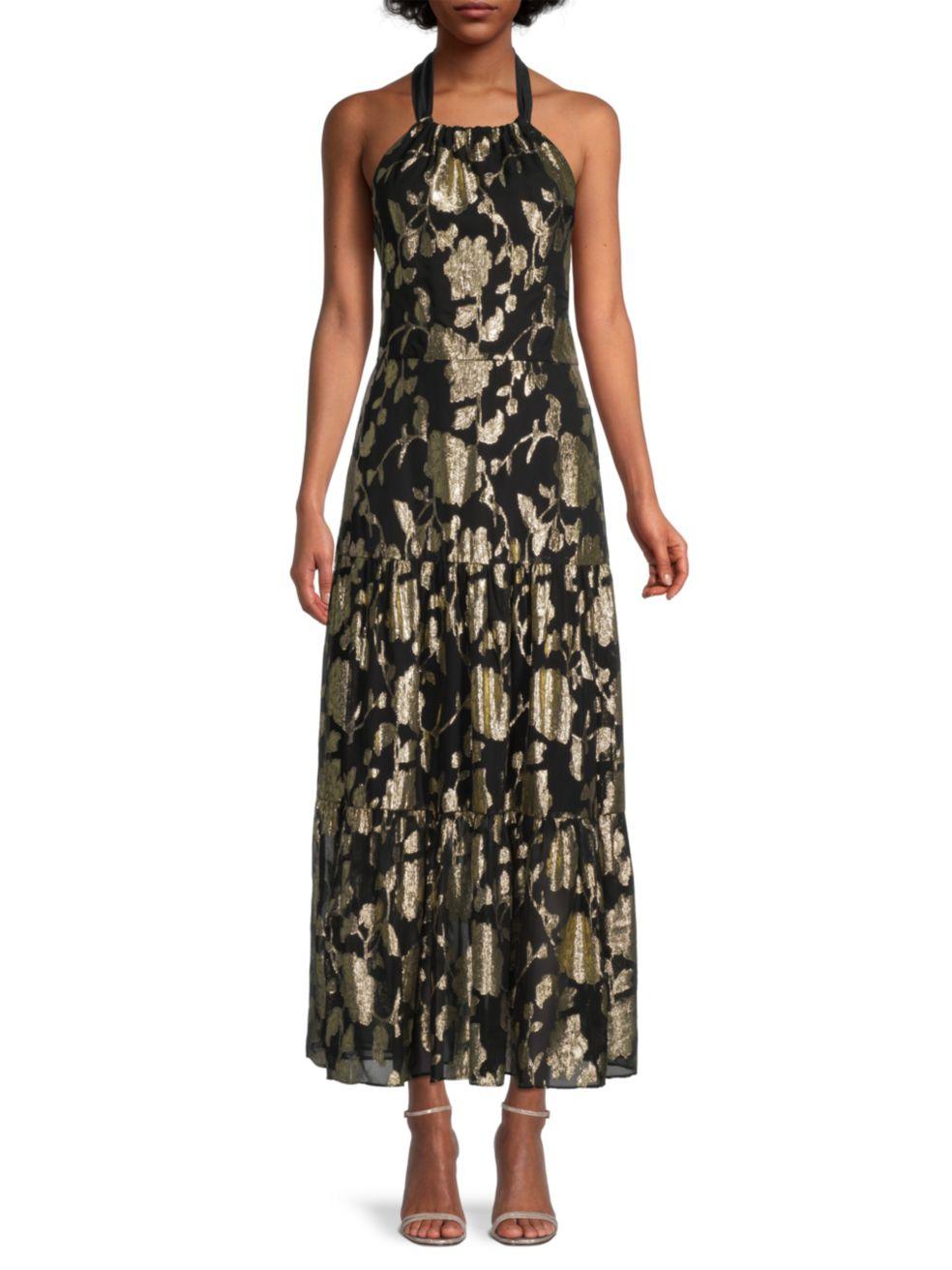 Milly Hayden Metallic Dress   SaksFifthAvenue