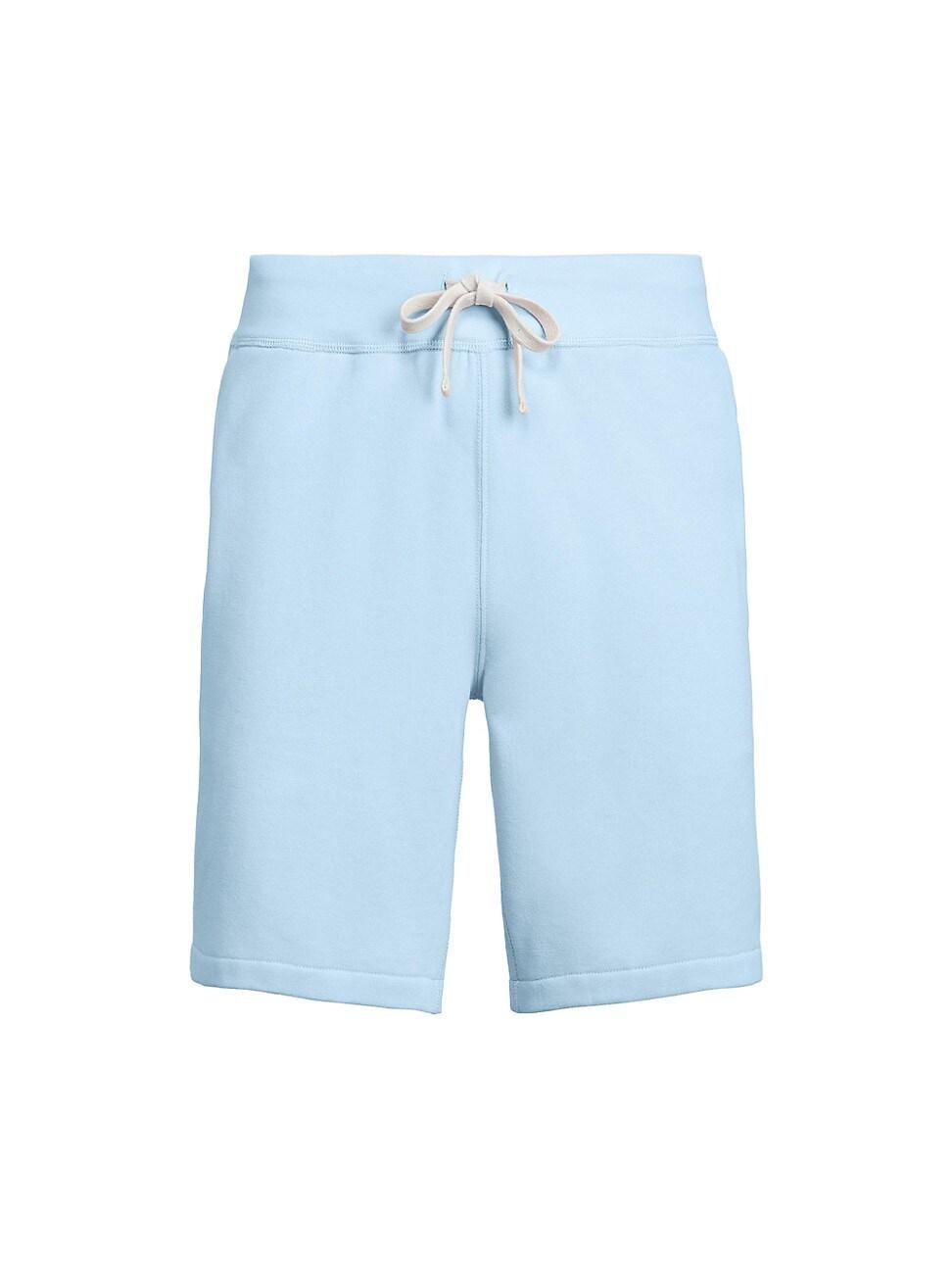 "Polo Ralph Lauren Men's 9.5"" Cotton-blend-fleece Shorts In Elite Blue"