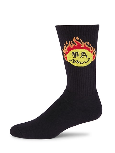 Burning Head Crew Socks