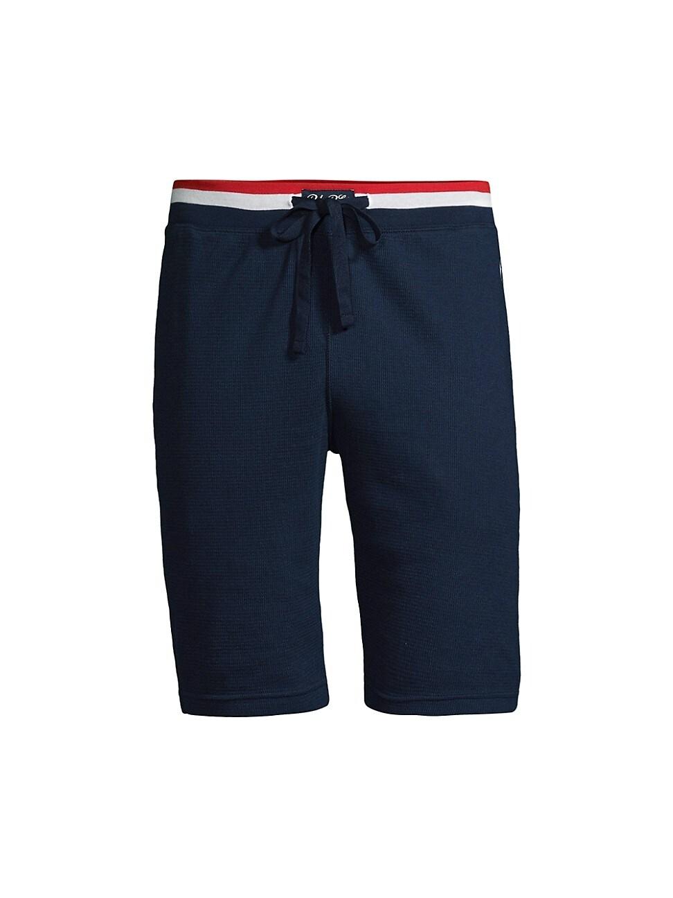 Polo Ralph Lauren Men's Stripe-waist Shorts In Cruise Navy