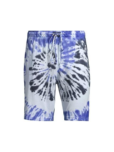 Tie-Dye Jersey Shorts