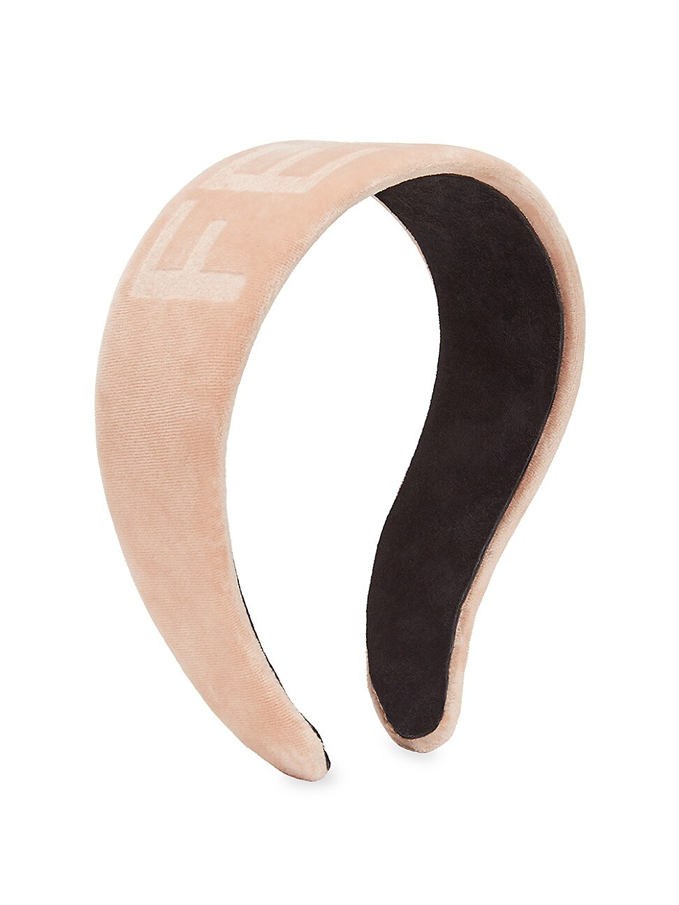 Fendi WOMEN'S VELVET LOGO HEADBAND