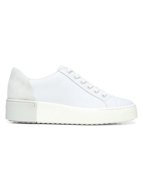 Bensley Leather Platform Sneakers