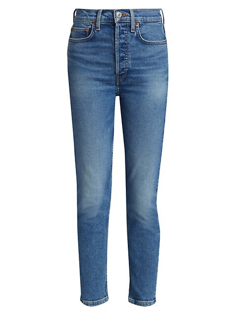 90s High-Rise Ankle Cropped Skinny Jeans